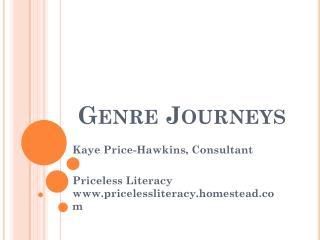 Genre Journeys
