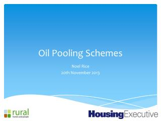 Oil Pooling Schemes