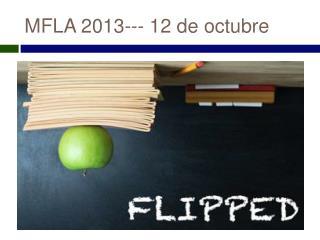 MFLA 2013--- 12 de  octubre