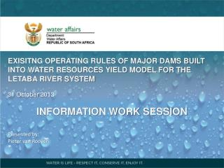Major Dams focussed on