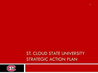 St. Cloud State University Strategic Action Plan
