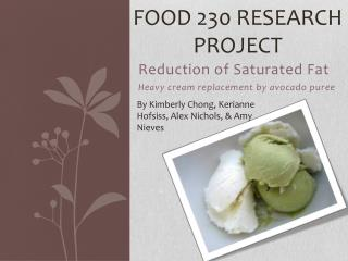 Food 230 Research Project