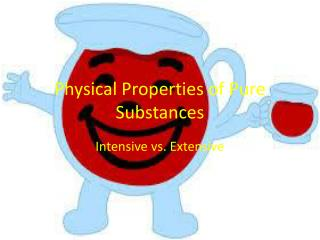 Physical Properties of Pure Substances
