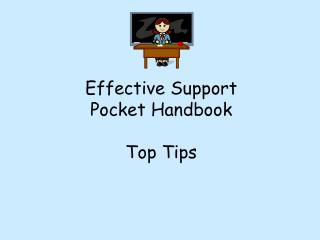 Effective Support Pocket Handbook Top Tips
