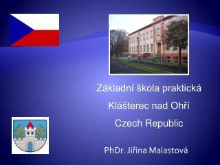 PhDr. Jiřina Malastová