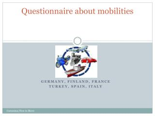 Questionnaire about mobilities