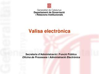 Valisa electrònica