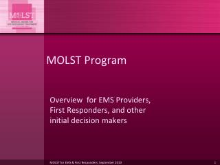 MOLST Program