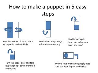 How to make a puppet in 5 easy steps