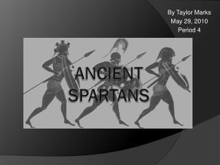 Ancient Spartans