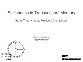 Selfishness in Transactional Memory