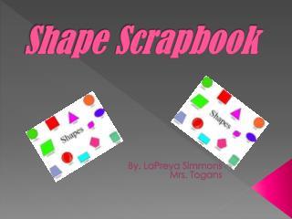 Shape Scrapbook