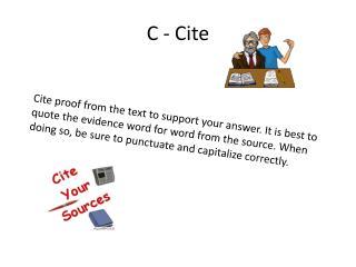 C - Cite