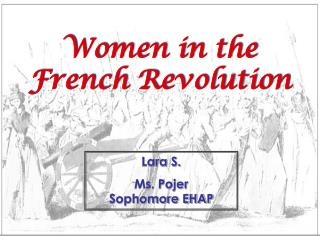 Women in the French Revolution