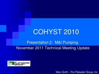 COHYST 2010