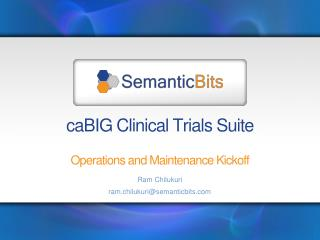 caBIG Clinical Trials Suite