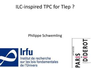ILC-inspired TPC for  Tlep  ?