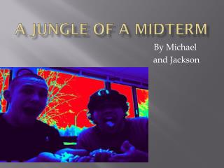 A Jungle of a Midterm