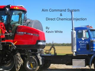 Aim Command System   &            Direct Chemical Injection