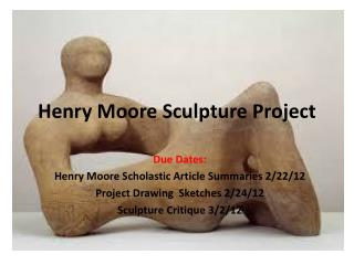Henry Moore Sculpture Project