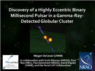 Discovery of a Highly Eccentric Binary Millisecond Pulsar in a Gamma-Ray-Detected Globular Cluster