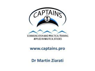 captains.pro Dr Martin Ziarati