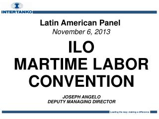 Latin American Panel November 6, 2013