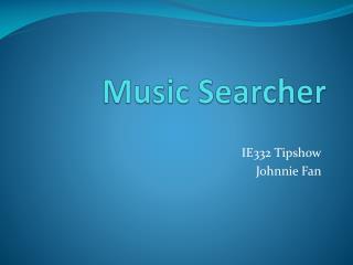 Music Searcher