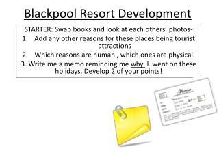 Blackpool Resort Development