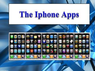 The  Iphone  Apps