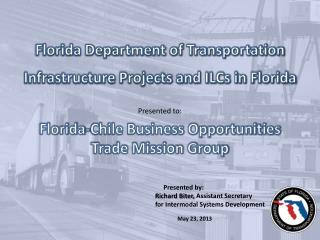 Florida-Chile Business Opportunities  Trade Mission Group