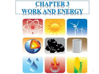 Chapter 3 Work  and Energy