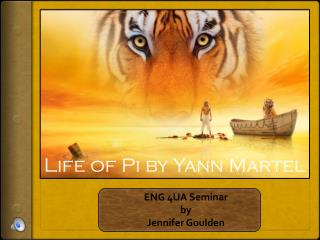ENG 4UA Seminar  by  Jennifer Goulden