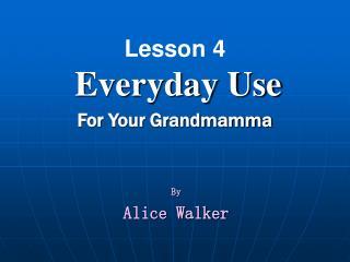 Nineteen fifty five alice walker essay