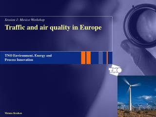 Traffic and air quality in Europe