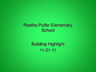 Reeths-Puffer Elementary School