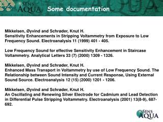 Some documentation
