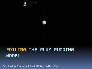 Foiling  the plum pudding model