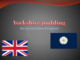 the national dish of England
