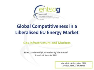 Global Competitiveness in a Liberalised EU Energy Market