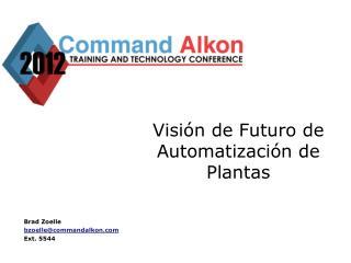 Visión de Futuro de Automatización de Plantas