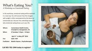 What's Eating You? A Workshop on Emotional Eating