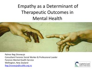 Empathy as a Determinant of Therapeutic Outcomes in  Mental Health