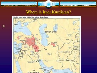 Where is Iraqi Kurdistan