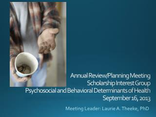 Meeting Leader: Laurie A. Theeke, PhD