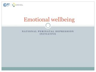 Emotional wellbeing