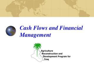 Cash Flows and Financial Management