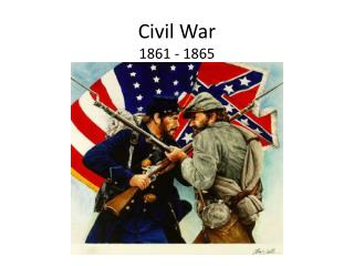 Civil War 1861 - 1865