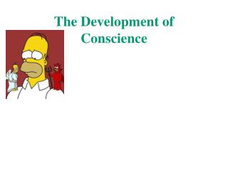 The Development of Conscience