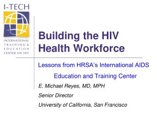 Building the HIV Health Workforce